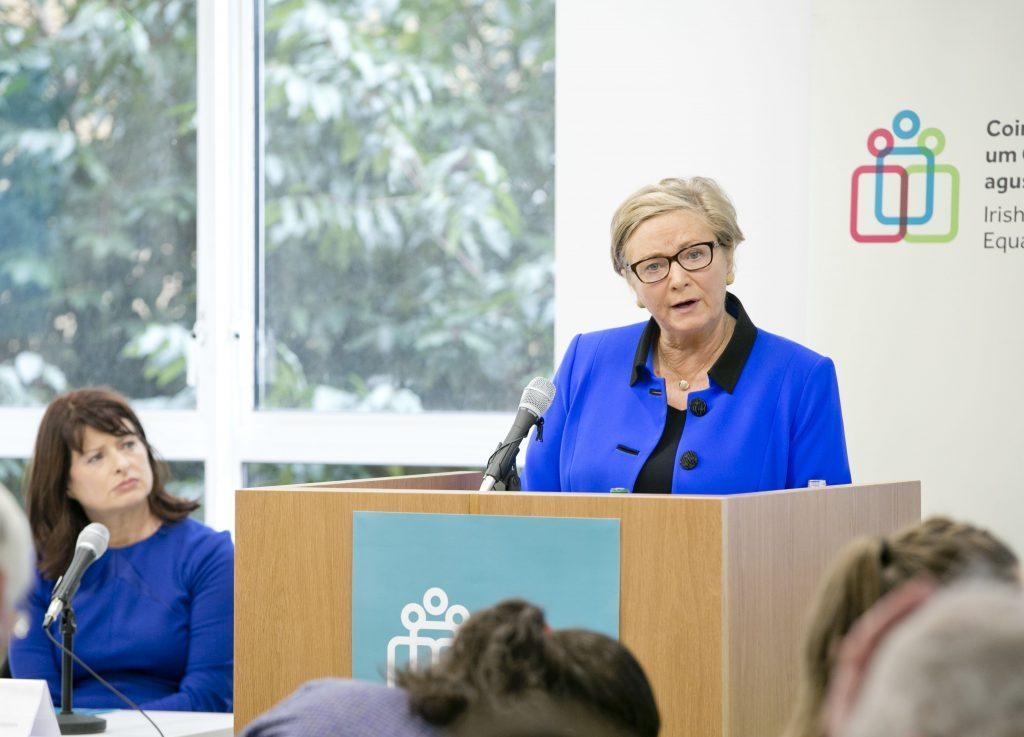 Tánaiste Frances Fitzgerald addresses IHREC seminar