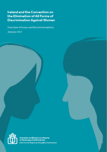 Ireland and CEADW Overview of Issues and Recommendations_Cover Image