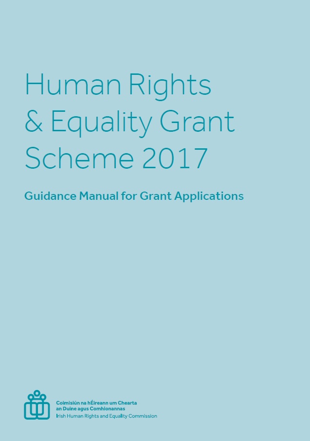 Human Rights and Equality Grants Scheme 2017 now open