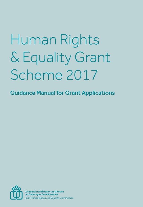 Human Rights and Equality Grant Awardees 2017