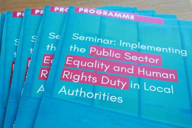Seminar programme: LGMA Public Sector Duty Event