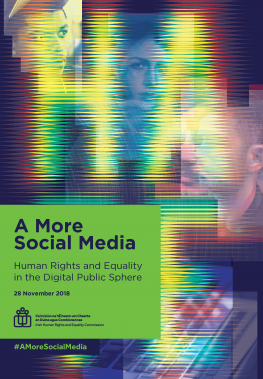 Podcast: 'A More Social Media: Human Rights and Equality in the Digital Public Sphere'