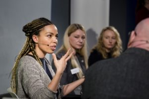 Emma Dabiri at Commission event 'A More Social Media', November 2018