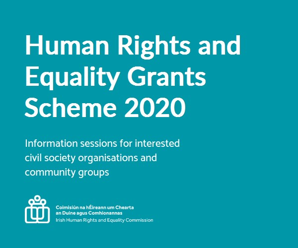 Human Rights and Equality Grants Scheme 2020-21 - Deadline Now Closed.