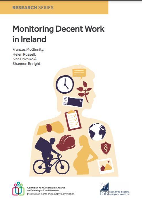 Report Cover - Monitoring Decent Work in Ireland