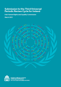 Submission to the Third Universal Periodic Review, 2021 cover
