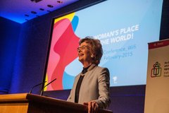 A Women's Place is in the World Mary Robinson
