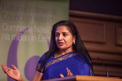 A Womens Place is in the World Ms Lakshmi Puri
